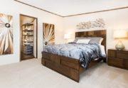 Holyfield Jubilation Mobile Home Master Bedroom