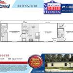 Fleetwood Berkshire Mobile Home Branded Floor Plan