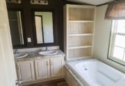 Fleetwood Weston 18763W Mobile Home Master Bathroom