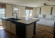 Fleetwood Weston 18763W Mobile Home Kitchen