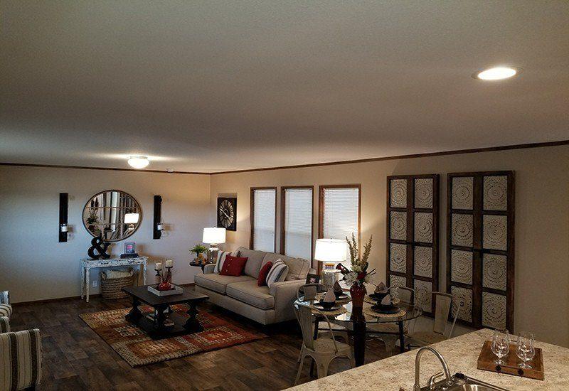 Houston C Model - Living Room