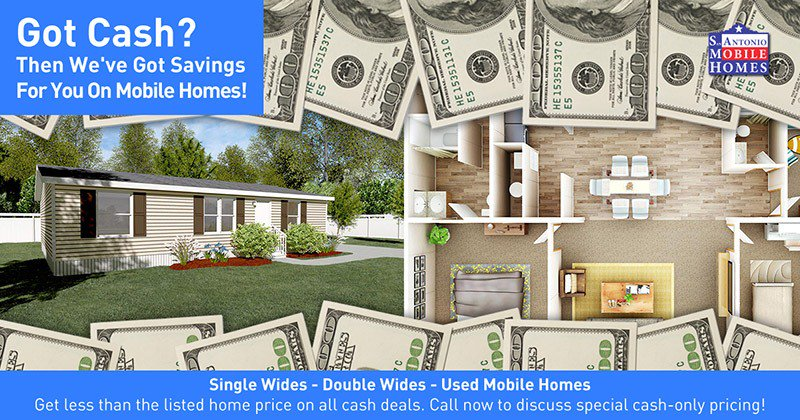 Mobile Home Cash Deals - San Antonio Mobile Homes
