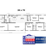 Trumh Triumph Mobile Home Branded Floor Plan