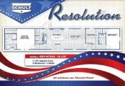 Resolution (2019) Floor Plan Graphic