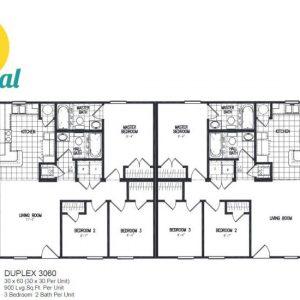 Meridian Duplex 60 - 3060 - FP