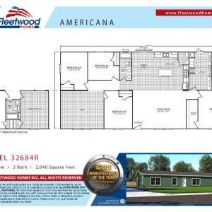 Fleetwood Americana 3268 - AE32684R - FP